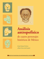 Análisis antropofísico de cuatro personajes históricos de México