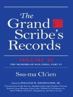 The Grand Scribe's Records, Volume XI