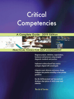 Critical Competencies A Complete Guide - 2019 Edition