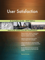 User Satisfaction A Complete Guide - 2019 Edition
