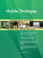Mobile Strategies A Complete Guide - 2019 Edition