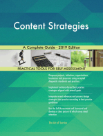 Content Strategies A Complete Guide - 2019 Edition