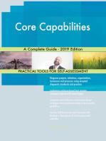 Core Capabilities A Complete Guide - 2019 Edition
