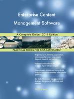 Enterprise Content Management Software A Complete Guide - 2019 Edition