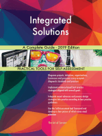 Integrated Solutions A Complete Guide - 2019 Edition