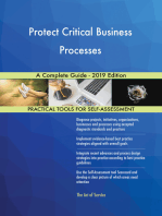 Protect Critical Business Processes A Complete Guide - 2019 Edition