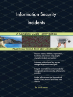 Information Security Incidents A Complete Guide - 2019 Edition