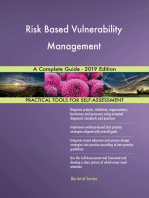 Risk Based Vulnerability Management A Complete Guide - 2019 Edition