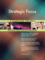 Strategic Focus A Complete Guide - 2019 Edition