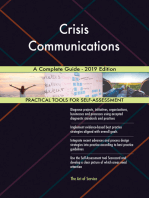 Crisis Communications A Complete Guide - 2019 Edition