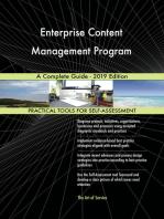 Enterprise Content Management Program A Complete Guide - 2019 Edition