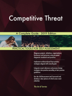 Competitive Threat A Complete Guide - 2019 Edition
