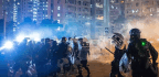 Citywide Strike Erupts Into Night Of Chaos In Hong Kong