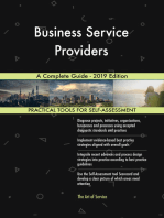 Business Service Providers A Complete Guide - 2019 Edition