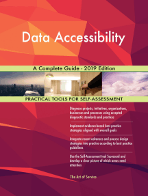 Data Accessibility A Complete Guide - 2019 Edition