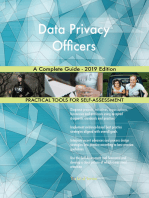 Data Privacy Officers A Complete Guide - 2019 Edition