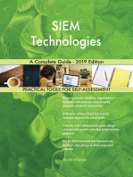 SIEM Technologies A Complete Guide - 2019 Edition