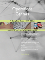 Operations Centers A Complete Guide - 2019 Edition