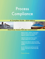 Process Compliance A Complete Guide - 2019 Edition