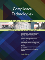 Compliance Technologies A Complete Guide - 2019 Edition
