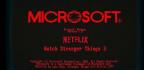Microsoft's Retro Windows Teasers Emerge As A Stranger Things Promo