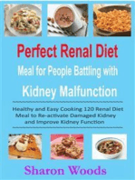 Perfect Renal Diet Meal for People Battling with Kidney Malfunction