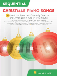 Sequential Christmas Piano Songs: 26 Holiday Favorites Carefully Selected and Arranged in Order of Difficulty