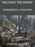 """Salvage the Bones"" Summarized & Analyzed"