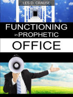 Functioning In Prophetic Office