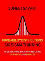 Probability Distributions: Six Sigma Thinking, #5