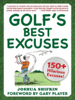 Golf's Best Excuses