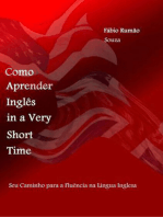 Como Aprender Inglês In A Very Short Time
