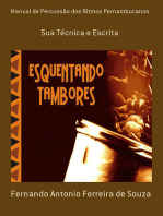 Manual De Percussão Dos Ritmos Pernambucanos