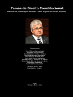 Temas De Direito Constitucional: