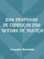 Das Despesas De Condução Dos Oficiais De Justiça