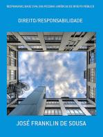 Responsabilidade Civil Das Pessoas JurÍdicas De Direito PÚblico