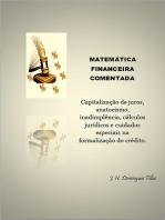 MatemÁtica Financeira Comentada