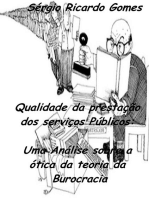 Qualidade Da Prestação Dos Serviços Públicos