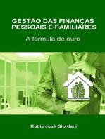 Gestão Das Finanças Pessoais E Familiares