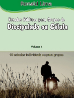 Estudos Bíblicos Para Grupos De Discipulado Ou Células Vol. 4