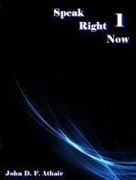 Speak Right Now 1 ( New Edition)