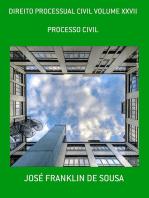 Direito Processual Civil Volume Xxvii