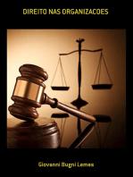 Direito Nas Organizacoes