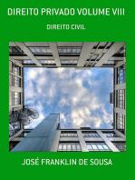 Direito Privado Volume Viii