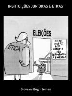 InstituiÇÕes JurÍdicas E Éticas