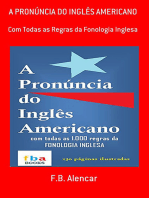 A PronÚncia Do InglÊs Americano