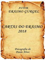 Cartas Do Erasmo 2018