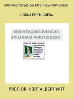 OrientaÇÕes BÁsicas Em LÍngua Portuguesa
