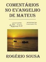 ComentÁrios No Evangelho De Mateus