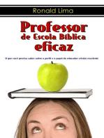 Professor De Escola Bíblica Eficaz